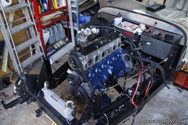 M20B28 Build in Full   Marlin Sportster Build Log