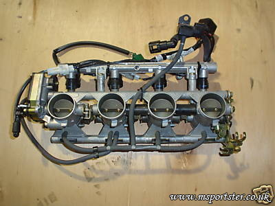 GSXR 600 K3 Throttle Body