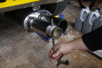 <p>This is how it will work in the exhaust.</p>