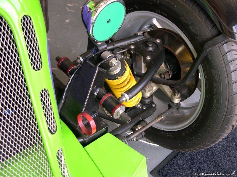 Ford Based Sportsters Front Suspension? - Madabout Kitcars Forum